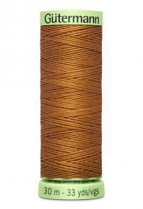 Knapptråd 30m Jeansbrun