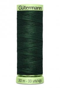 Knapptråd 30m Mörkgrön