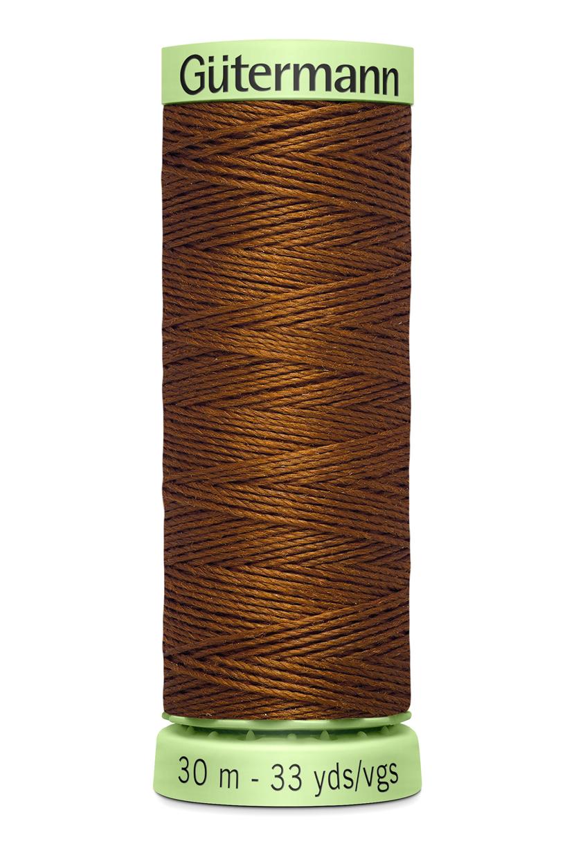 Knapptråd 30m Chokladbrun
