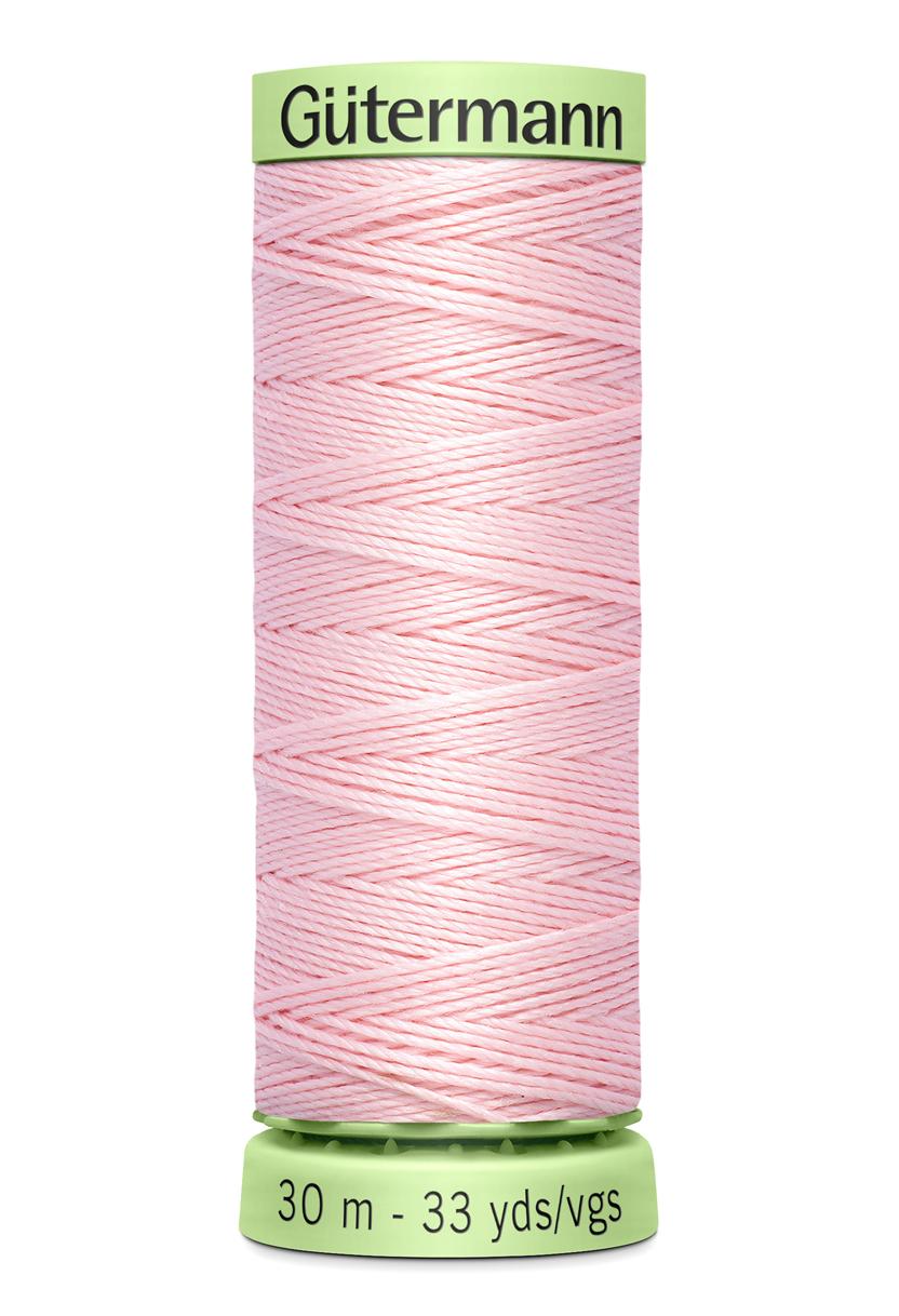 Knapptråd 30m Rosa