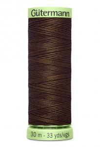 Knapptråd 30m Brun