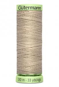 Knapptråd 30m Gråbeige