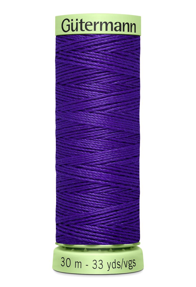 Knapptråd 30m Lila