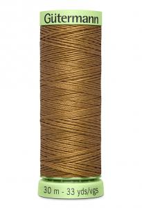 Knapptråd 30m Guldbrun