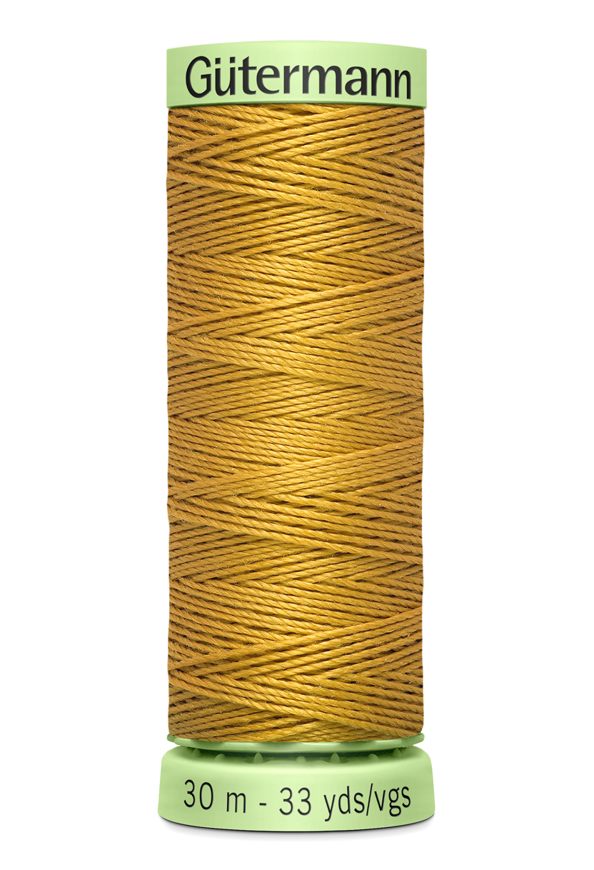 Knapptråd 30m Jeansgul