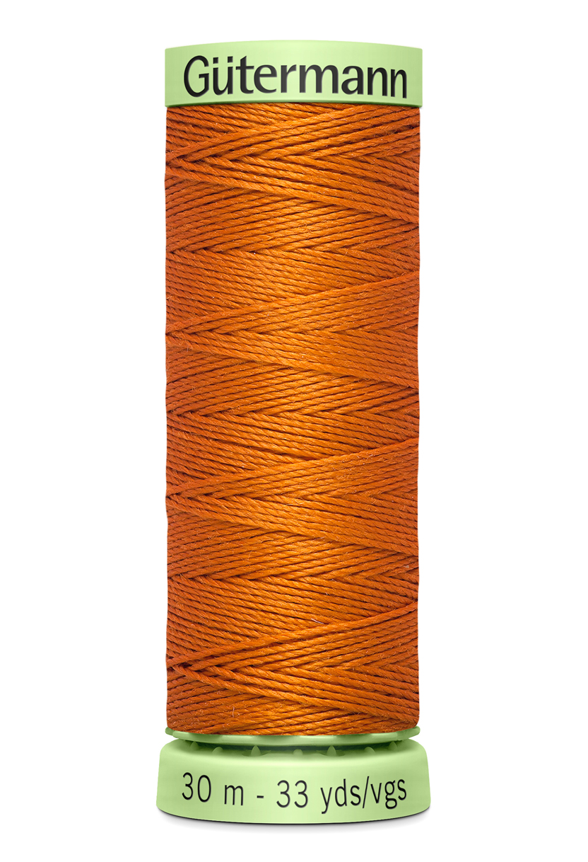 Knapptråd 30m Mörkorange