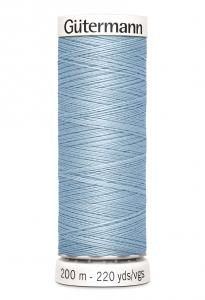 Polyestertråd 200 m Ljusblå