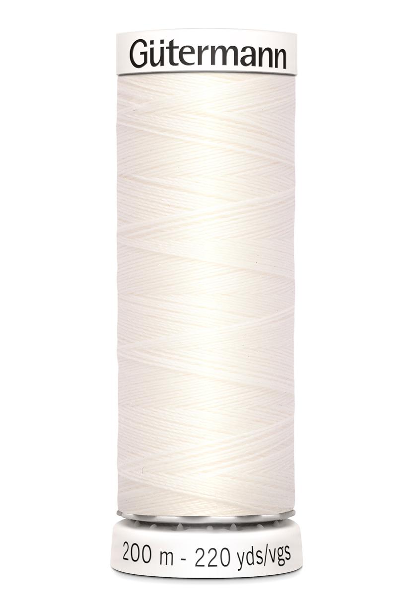 Polyestertråd 200 m Off-White