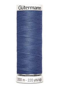 Polyestertråd 200 m Jeansblå