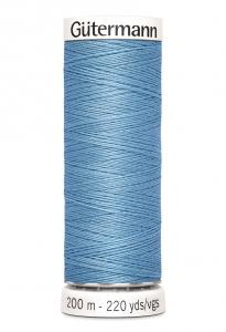Polyestertråd 200 m Himmelsblå