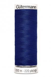 Polyestertråd 200 m Blå