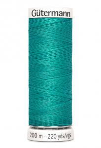 Polyestertråd 200 m Turkosgrön