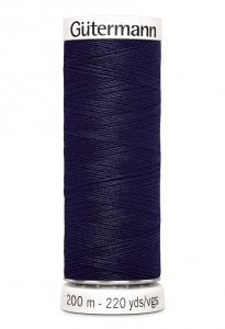 Polyestertråd 200 m Marinblå