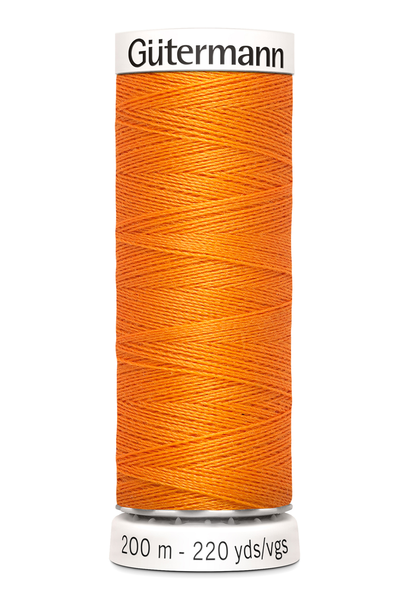 Polyestertråd 200 m Orange