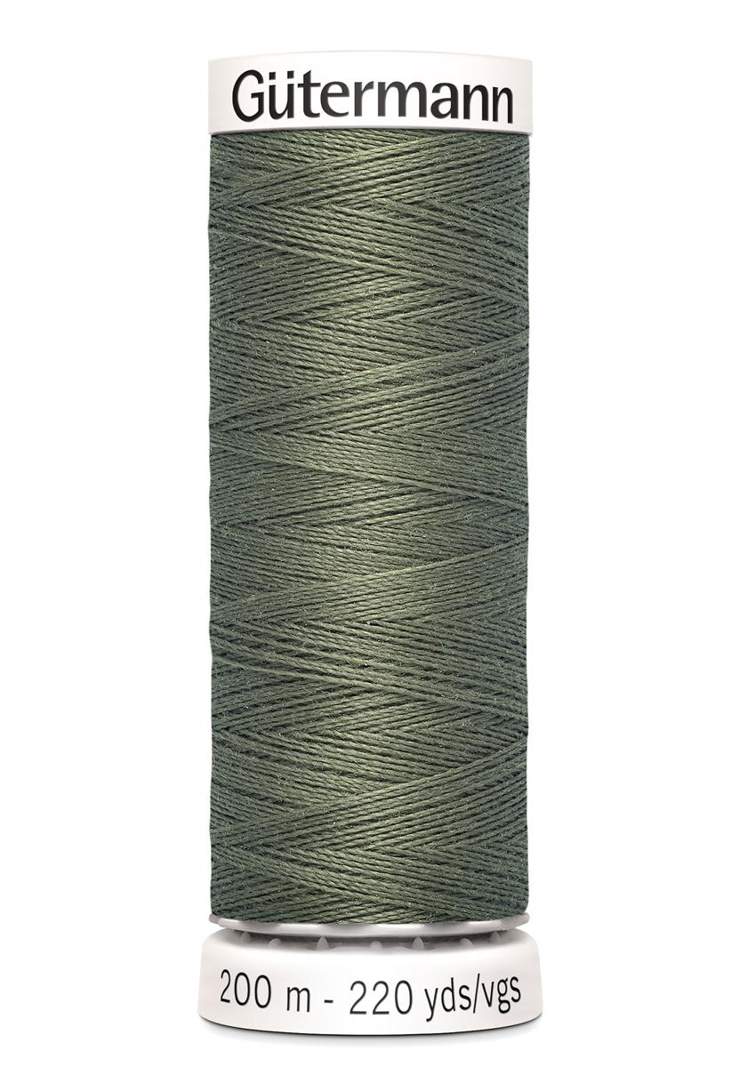 Polyestertråd 200 m Olivgrön