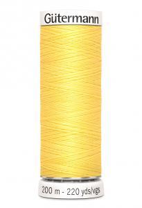 Polyestertråd 200 m Gul