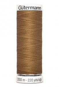 Polyestertråd 200 m Guldbrun