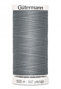 Polyestertråd 500 m Grå