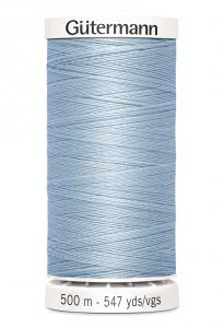 Polyestertråd 500 m Ljusblå