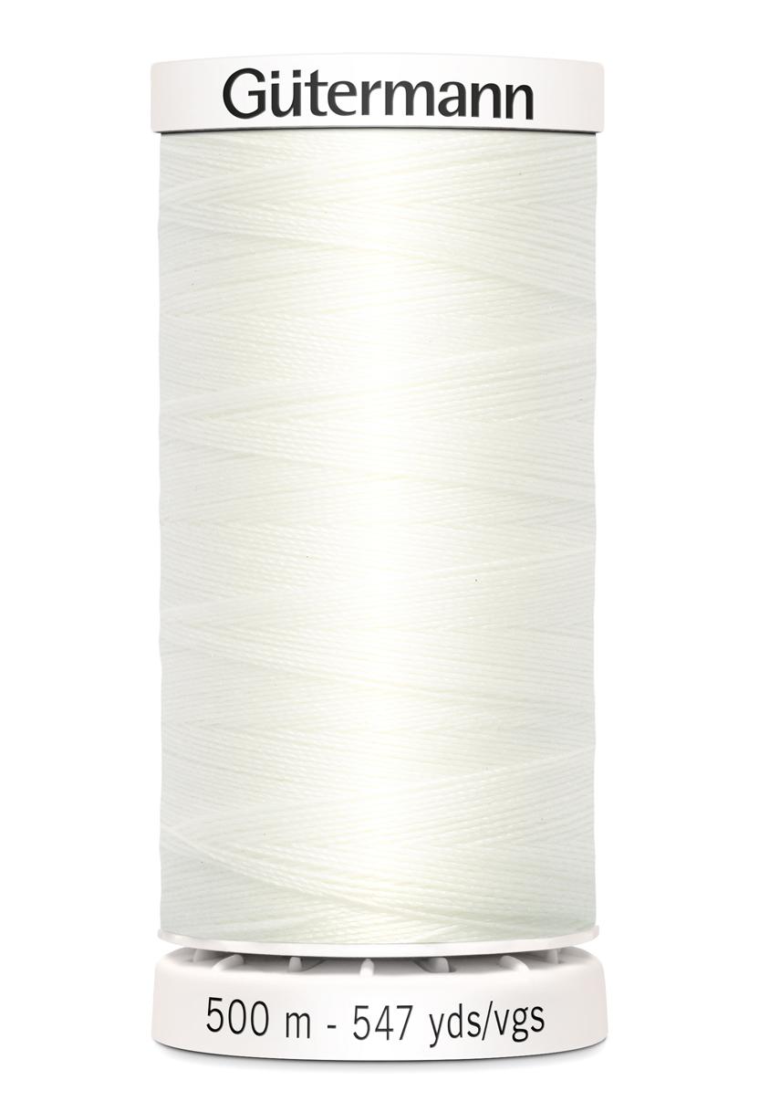 Polyestertråd 500 m Off-White