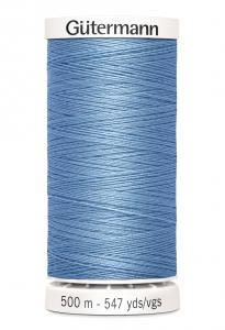 Polyestertråd 500 m Himmelsblå