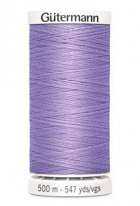 Polyestertråd 500 m Ljuslila