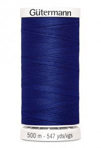 Polyestertråd 500 m Blå