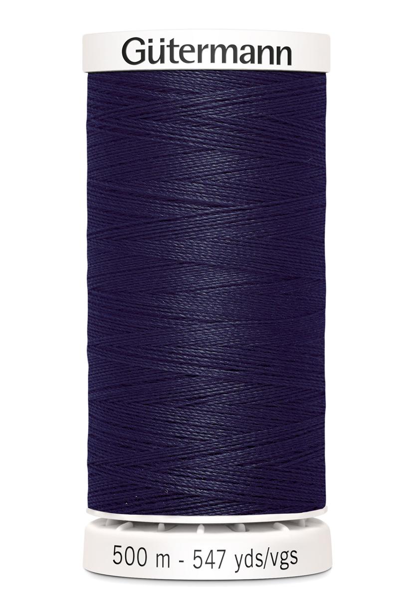 Polyestertråd 500 m Marinblå