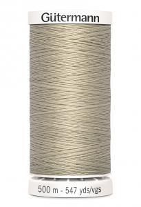 Polyestertråd 500 m Gråbeige