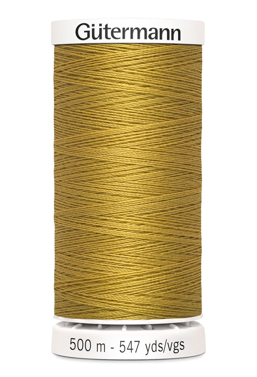 Polyestertråd 500 m Jeansgul