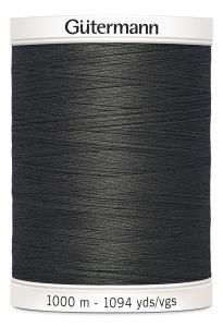 Polyestertråd 1000 m Mörkgrå