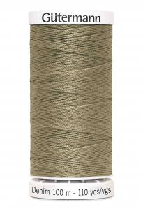 Gutermann Denim Khaki