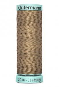 Knapphålssilke 30m Ljusbrun