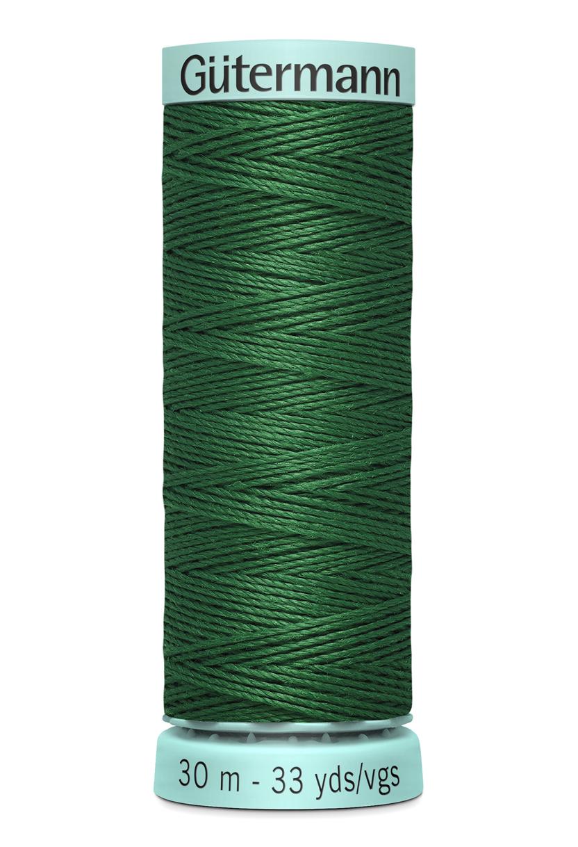 Knapphålssilke 30m Grön