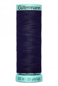 Knapphålssilke 30m Marinblå