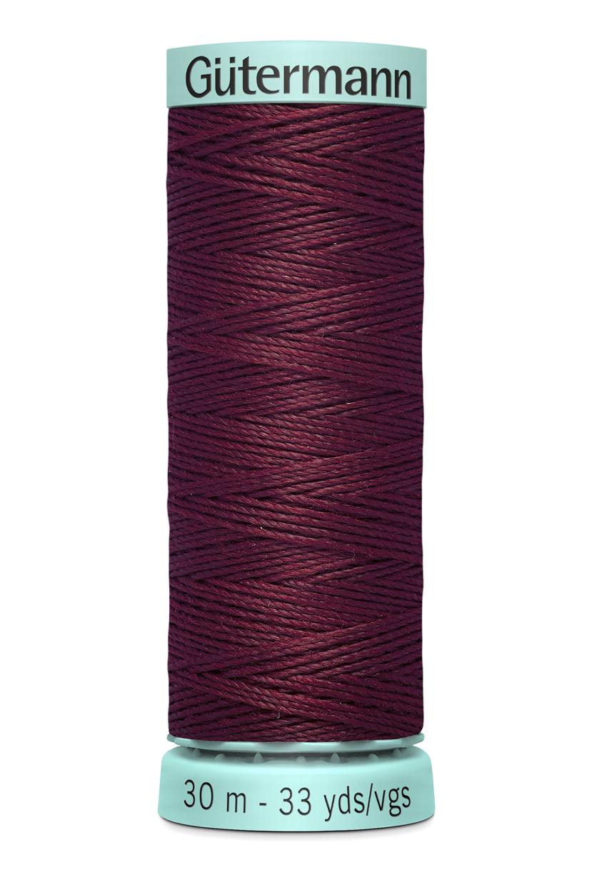 Knapphålssilke 30m Bordeaux