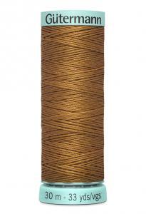 Knapphålssilke 30m Jeansbrun