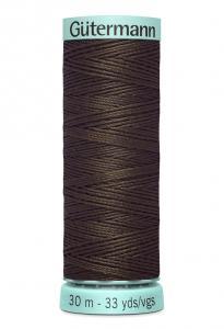 Knapphålssilke 30m Brun