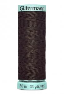 Knapphålssilke 30m Mörkbrun