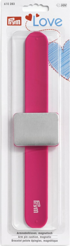 Knappnålsdyna - Rosa Magnetarmband