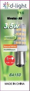 LED-lampa Bajonett