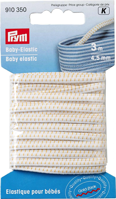 Babyresår 4,5 mm - Vit