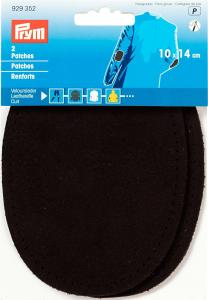 Armbågslappar Äkta läder 10x14 cm