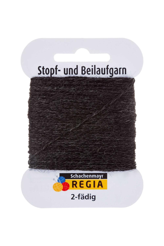 Stoppgarn Regia - Antracit grå melerad
