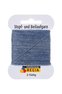 Stoppgarn Regia - Gråblå melerad