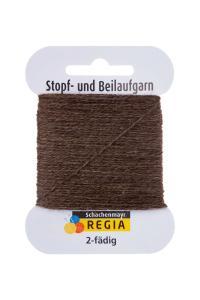 Stoppgarn Regia - Brunmelerad