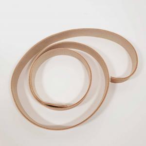Läderrem 2cm bred - Ljusbrun