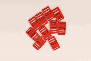 Klickspänne 20 mm - Röd - 10 st