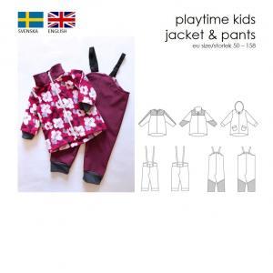 Playtime kids jacket & pants