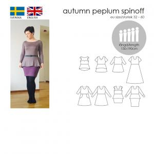 Autumn peplum spinoff